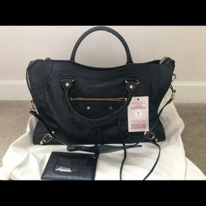 Balenciaga Classic City Bag - Black (Authentic)